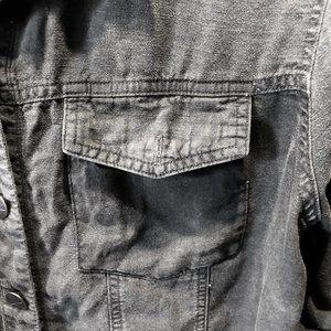 Bella Dahl Tops - Bella Dahl Washed Denim Cropped Shirt
